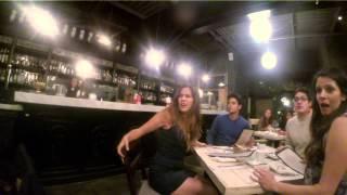 Restorandayken Biri Kurt Adama Dönüşse? (Someone at the restaurant turns to a werewolf?)