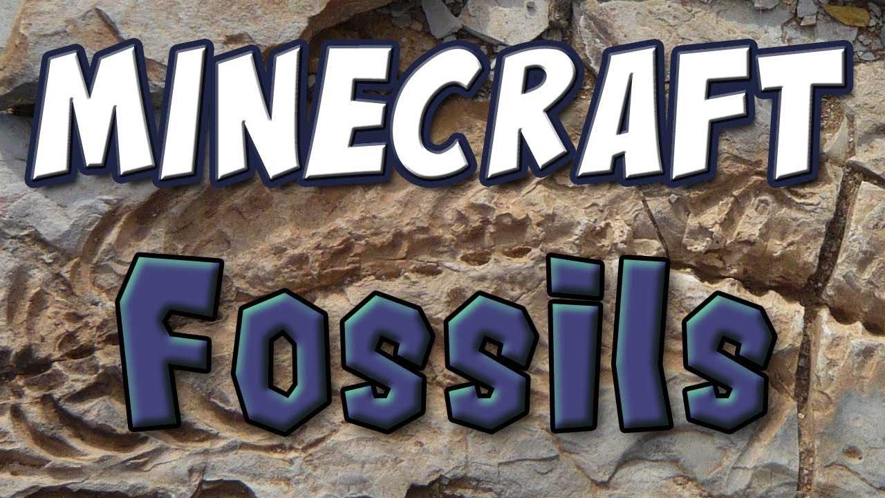 Mod: Add Dinosaurs to Minecraft with the Fossil Mod (1 8 1