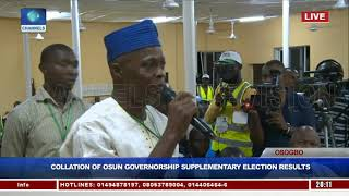 Party Agents Disagree As INEC Begins Collation Of Osun Rerun Election Results Pt.3