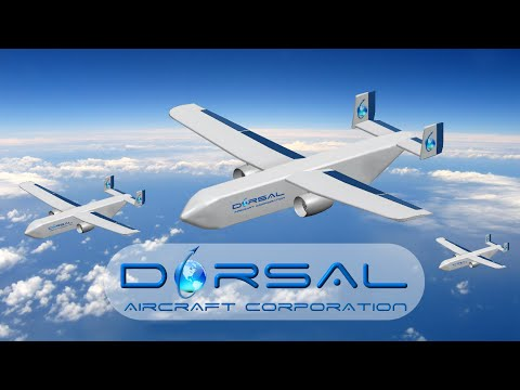 Commercial Trans-Oceanic ISO Container Cargo Drone System