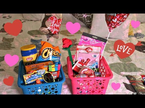 What I got my kids & hubby for Valentines Day!   Dollar Tree only!