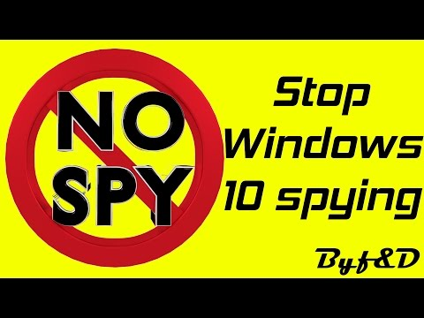 How to stop windows 10 SPYING with DWS Lite