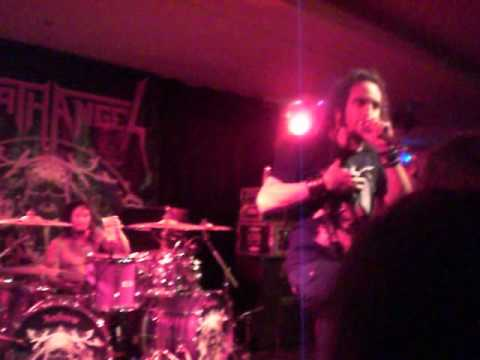Bay Area Thrashers Death Angel doing some Karaoke