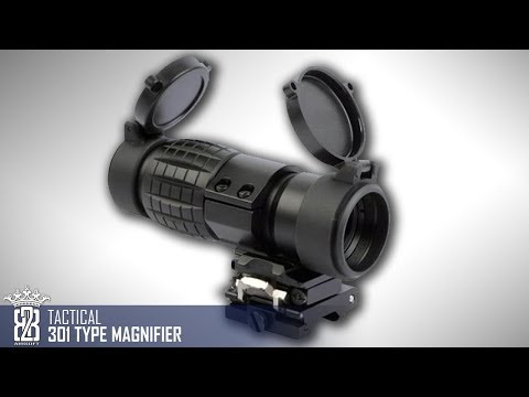 *Airsoft Gear*  | Tactical 301 Type Magnifier Scope  EoTech Clone Review Deutsch - English Subtitle