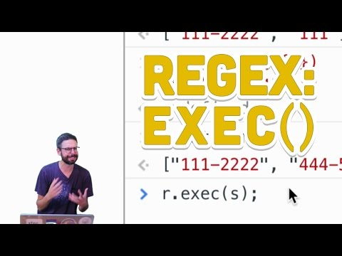2.7: Regular Expressions: exec() - Programming with Text