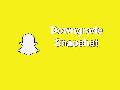 How to Downgrade Snapchat for Phantom