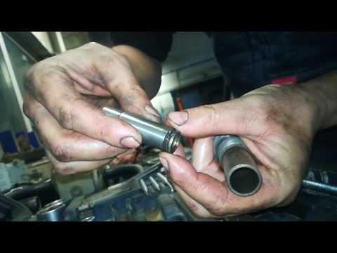Как перезарядить натяжитель цепи Грм Мерседес мотор М111