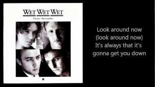 WET WET WET - Sweet Surrender (with lyrics)
