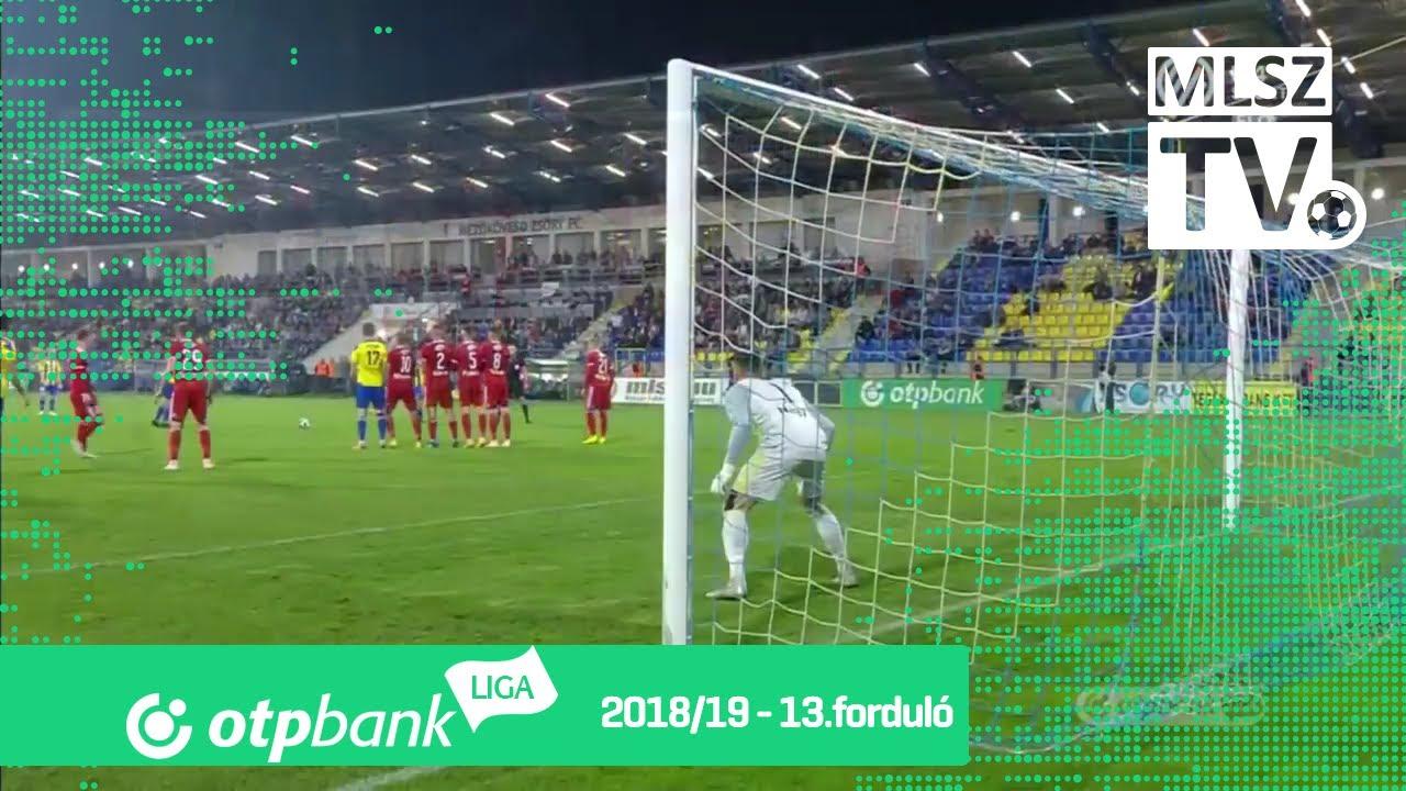 Mezőkövesd Zsóry FC - DVSC | 2-2 (1-1) | OTP Bank Liga | 13. forduló | 2018/2019