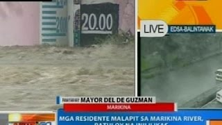 NTG: Panayam kay Marikina City Mayor Del De Guzman kaugnay sa sitwasyon sa kanilang lugar