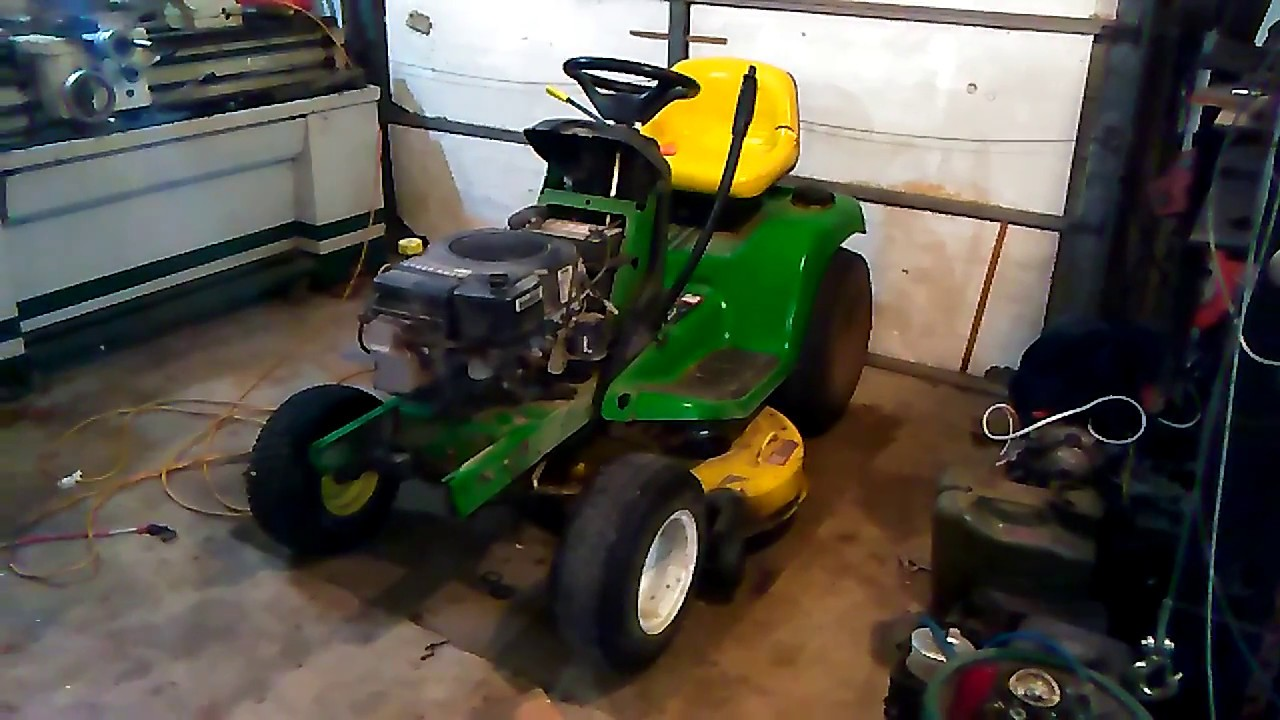 John Deere (Lt133) 0000: possible engine swap with Ford YT16