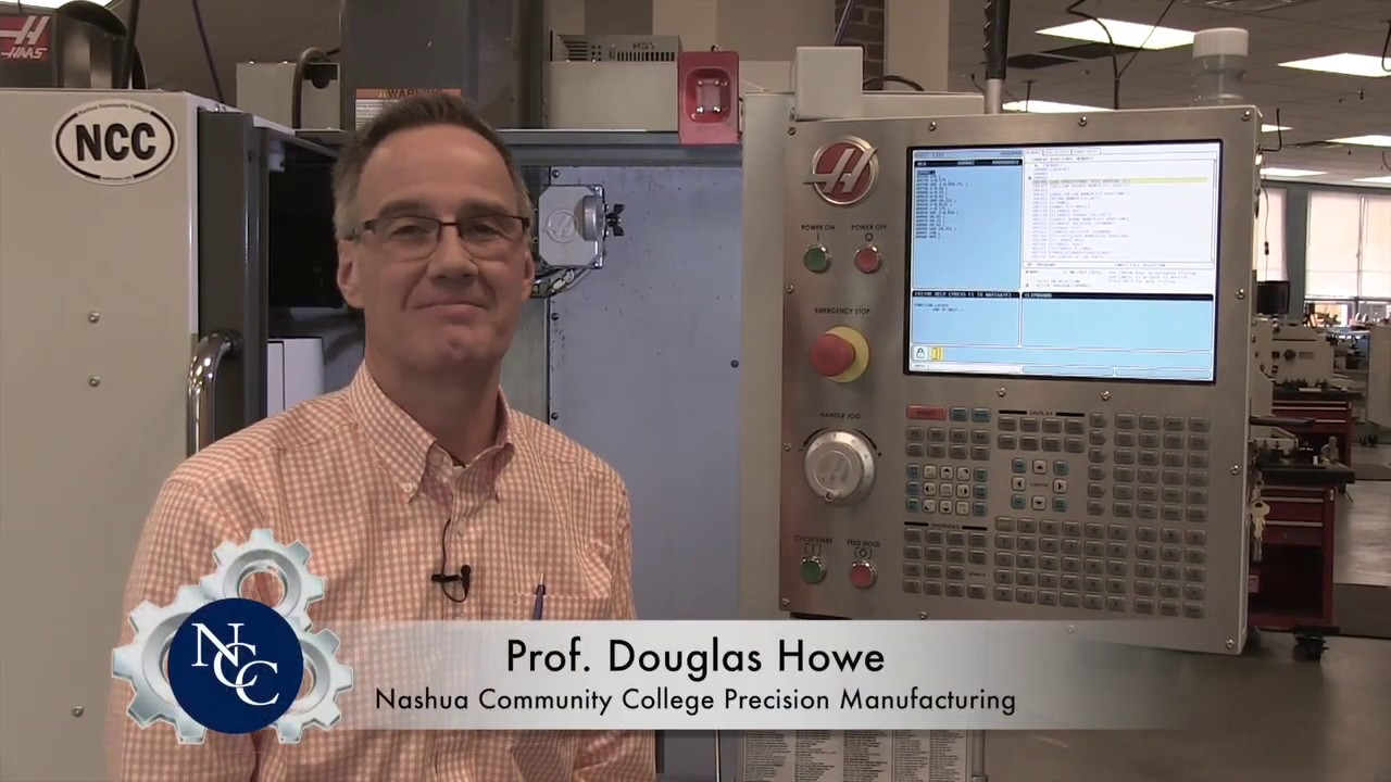 Nashua Community College Precision Manufacturing : Uploading a Program to a  Haas Mini Mill