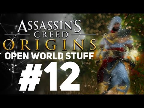 Assassin's Creed Origins [LIVE/PC] - New Game + Open World Stuff #12