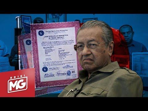 Tun M ada RM83billion di Taiwan? | Edisi MG