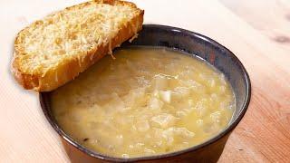 После этого видео вы полюбите луковый суп навсегда. Классическая французская кухня