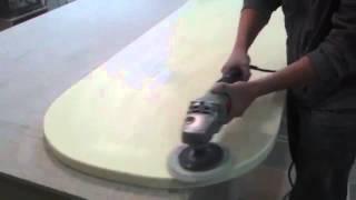 видео подоконники из искусственного камня