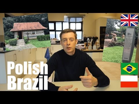 Authentic Polish Culture in Brazil? It's there but not as much as I had hoped!!