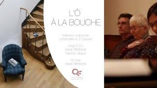 L'Ô à la Bouche Atelier Poésie Libre - Médiathèque F.Mitterrand - Poitiers