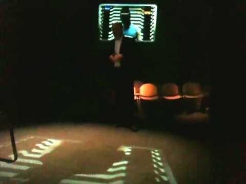 4DAR - Olografia e interattività live tramite 4D-Spidernet all'evento The Edge 2012-Fiera di Milano