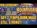 THE BOOMSDAY PROJECT NEW TEMPO BURN MAGE DAY 2 HEARTHSTONE DECK mp3