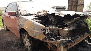В Копейске сгорели девять автомобилей за ночь(В ночь с 26 на 27 мая в нескольких поселках и центральной части Копейска были совершены поджоги автомобилей...., 2015-05-28T12:45:47.000Z)