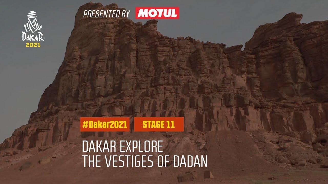 #DAKAR2021 - Stage 11 - The vestiges of Dadan