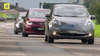 Test comparatif de voitures électriques