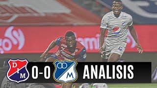 Medellin 0 Millonarios fc 0 Analisis Del Partido! ¿Mejoro El Embajador En Defensa Con Llinas o No?