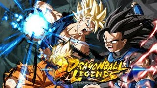 DRAGON BALL LEGENDS: Live teste  primeiros minutos