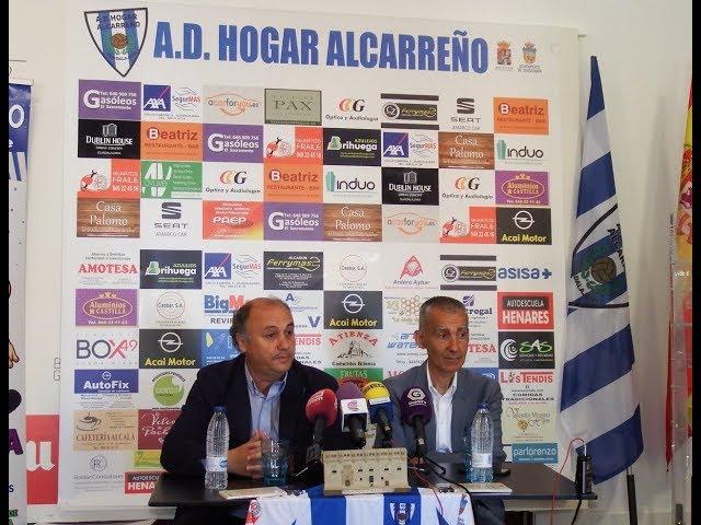 Carlos Terrazas, nuevo Mánager General del Hogar Alcarreño.
