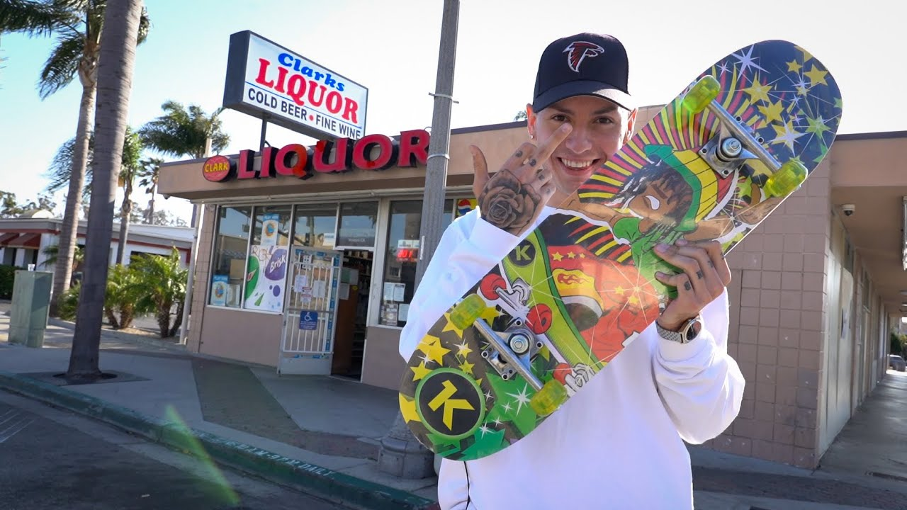 I Bought A Skateboard From A Liquor Store!