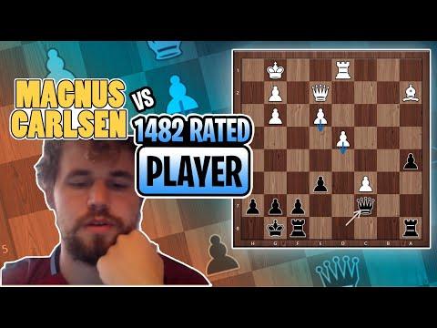 Is This Position Enough For The Exchange? Magnus Explains It!   Magnus Carlsen Banter Blitz