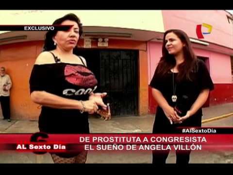 De Prostituta A Congresista: El Sueño De La Sensual Ángela Villón