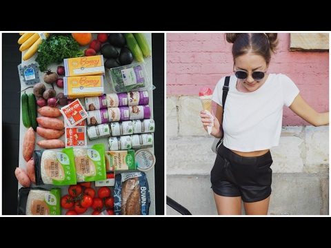 A DAY IN MY LIFE // VEGAN GROCERY HAUL