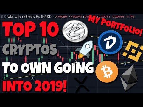 IMPORTANT: Top 10 Crypto's To Own Going Into 2019! – My Portfolio
