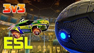 Продолжаем потеть на турнире ESL Summer'17 Cup #1 | Round 2 | Rocket League