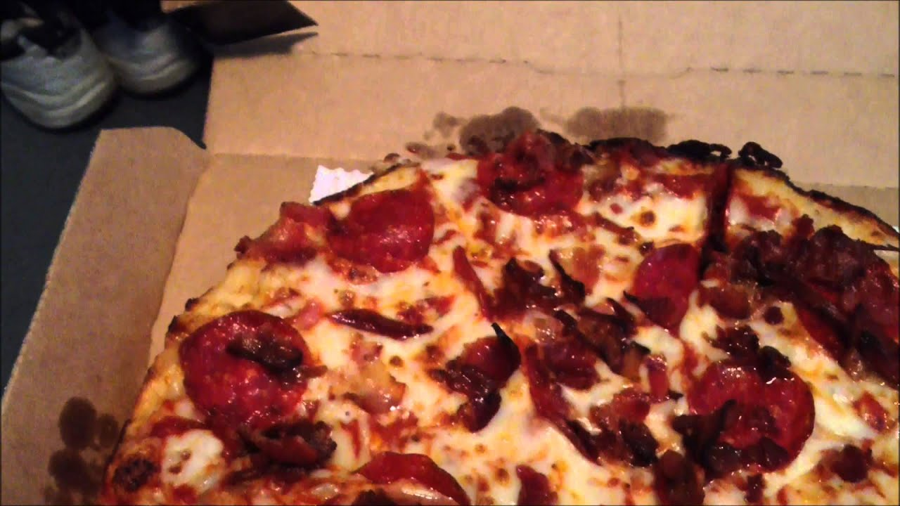 handmade pan pizza from dominos a s taste challenge ep36 quot domino s handmade pan 1508