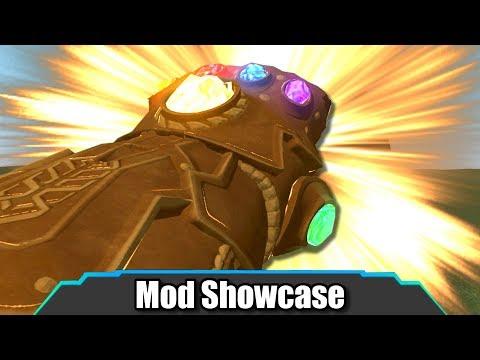 Garry's Mod | INSANE Infinity Gauntlet Update! New Abilities | Mod Showcase