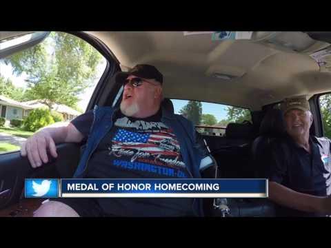 Medal of Honor winner Gary Wetzel comes home