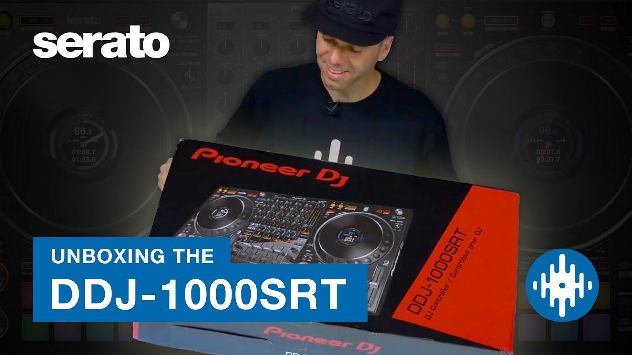 The Pioneer DJ DDJ-1000SRT — yes, SRT means Serato | DJWORX