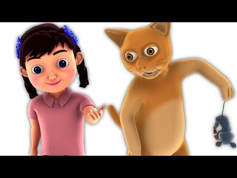 Billi Mausi Billi Mausi | Hindi Poems | बिल्ली मौसी | Kids Tv India | Hindi Nursery Rhymes