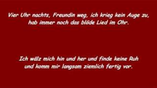 Wise Guys - Ohrwurm ( Lyrics )