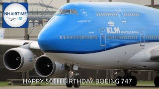 HAPPY 50th BIRTHDAY BOEING 747