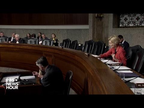 WATCH: Trump's Space Force met with skepticism in Senate hearing