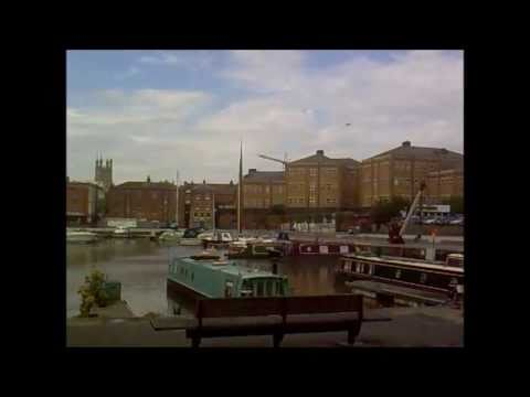 Gloucester, United Kingdom - Cathedral, City Centre and Docks