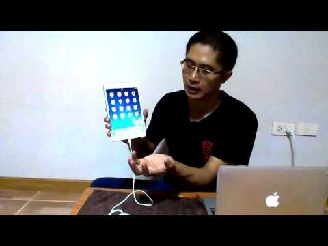 แกะกล่อง IPad Mini Retina By Songsook.com ตอนที่ 2