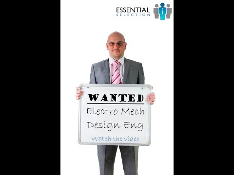 Electro Mechanical Design Engineer