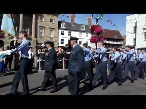 Battle of Britain Parade - Newark-On-Trent