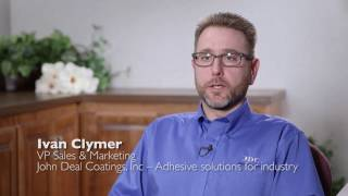 Pyradia Web Converting - John Deal Coatings Testimonial - Web coating equipment