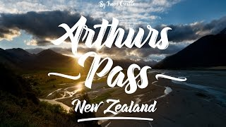 Places to visit in South Island New Zealand - Arthurs Pass